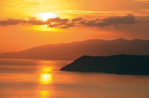 風景㊿ 〜 紀淡海峡の夕陽