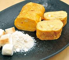 レシピ 〜 麩入り玉子焼き
