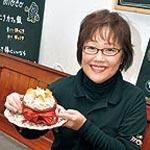 カフェmoco 松本 和美さん ショウガ主役の創作料理