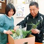 東日本大震災4年 〝心の栄養〟たっぷり野菜 紀の川市の男性 福島から避難の佐藤夫妻へ 毎週欠かさず181回