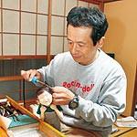 ドラマ感じる創作布人形 吉川直樹さん 26年ぶりの個展