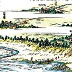 北島の渡しと川湊 城下町2 ㉕