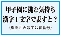 伝統校 桐蔭53年ぶりの春〈第87回選抜高等学校野球大会特集〉