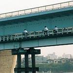 半世紀No.40 〜 2003年(H15)南海橋 100年の歴史に幕 きょう深夜 全面通行止めに