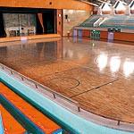 和歌山県立体育館改修 床や観客席一新