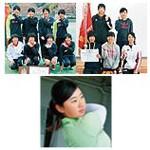 日本一の笑顔キラリ 3競技の女子高生 全国制覇
