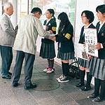 ネパール支援に協力を 和歌山東高生が募金活動