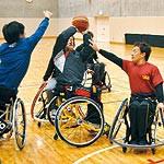 わかやま大会① 〜 車いすバスケットボール 和歌山県代表チーム ベテラン中心 技で勝負