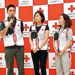 日赤職員3人 ネパールへ 7月中旬まで地震救援活動