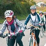 サイクリング女子集まれ ファンクル 桃づくしツアー企画