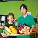 味力びと 〜 華やかに食卓彩る野菜を piatto-城下町の八百屋さん 立野眞生さん・幸子さん