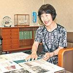 亡き夫が遺した市電写真 和歌山市の中川聖子さん 市立博物館へ寄贈