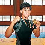 初の国際大会 アジアの頂点に 和歌山北高校レスリング部 三輪優翔選手