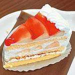 vol.4 ケーキ工房 匠・太平 桃のショートケーキ (389円)