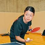 わかやま大会⑧ 〜 卓球 原代采奈(はらだいあやな)選手 プレッシャーに打ちかつ