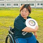 わかやま大会⑪ 〜 フライングディスク 村田容子選手(43) より遠くへ正確に