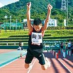 わかやま大会⑫ 〜 陸上 岡室陽造選手(34) 能力発揮する集中力