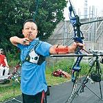 わかやま大会⑬ 〜 アーチェリー 尾﨑直彦選手(37)ライバルは過去の自分