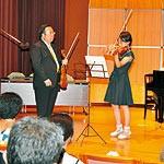 東京藝大のレッスン間近に ヴァイオリニスト 澤和樹さんが指導