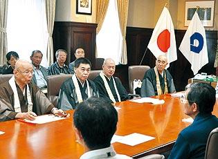 山口地区産廃問題 修験道各宗派が中止要望 仁坂知事 「許可できない」