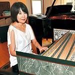 広まれ 古楽器の魅力 海南市の上野山彩子さん 自宅でチェンバロ演奏会