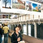 あふれる貴志川線への愛情 中川隆人さん遺作写真展 四季の風景切り取った86点
