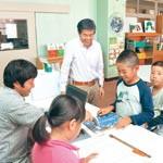 読書力向上に地域が協力 巽小図書ボランティア 貸し出しシステム製作