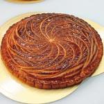 〝王様の菓子〟ガレット・デ・ロワ 日本一の濱田さん 作り方伝授 地元和歌山で24人に