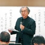 擬洋風建築 郭家保存を 学習会で研究者ら指摘