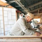 挑戦する和歌山建具 老舗企業2社 職人の技生かしブランド化