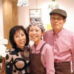 味力びと 〜 身体に優しい家族の味 和カフェ 一衣 西岡榮次さん・博美さん・知美さん
