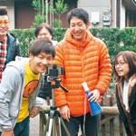 30秒に地元愛込めて 海南市の志場さん 鈴木屋敷でCM撮影