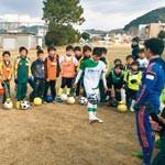プロサッカー選手と初蹴を 元Jリーガー 松尾さん企画
