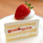 ショートケーキ名鑑vol.13 サブール本店 イチゴのショートケーキ