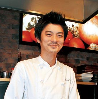 自家製野菜 堪能あれ 「鉄板文化」オーナーシェフ 寺岡哲史さん