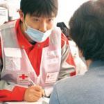 東日本大震災時の思いつなぐ 日赤で講座や写真展示