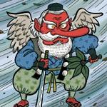 妖怪大図鑑 〜 和歌山城特別編(其の六〜八 野衾、天狗、高女)