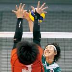 いざ Vリーグ 信愛高校卒業の石川真奈選手 木村沙織選手擁する東レ入団 最高到達点3㍍の高さ武器に