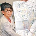 津波からの「逃げ地図」 日本建築家協会和歌山地域会 現況書き入れ活用を