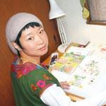 移住生活 ありのままに 紀美野町の助野梓さん エッセイ漫画作成