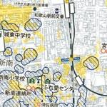 豪雨災害 万全の備えを  和歌山市 内水氾らん予想図