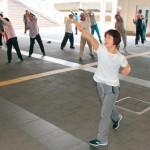 シニアのびのびラジオ体操 なじみの運動 グループ急増 海南市は介護予防に活用