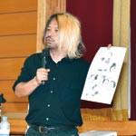 トトロが生まれるまで 元ジブリ木原さん 安原小でアニメ制作紹介