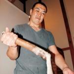 日本古来の〝ねばり〟提供〜自然薯茶屋からびな店長 野崎俊行さん
