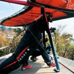 紀の川市の礒本容子さん ハンググライダーで描く夢