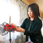 親友へ贈る花の階段 フラワーデザイナー 太田美香さん 日本最大級の展示会で入賞