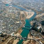 紀の川岩出狭窄部 安全に 国が治水工事着工