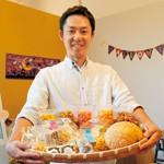 鱧と菓子で海南PR まちづくり団体 まつりやスタンプラリー
