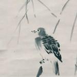 旺盛な好奇心示す絵画 ⑧鳩図