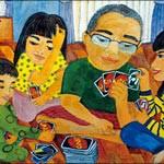 「家庭の日」絵画入賞10点 あす 北コミセンで展示